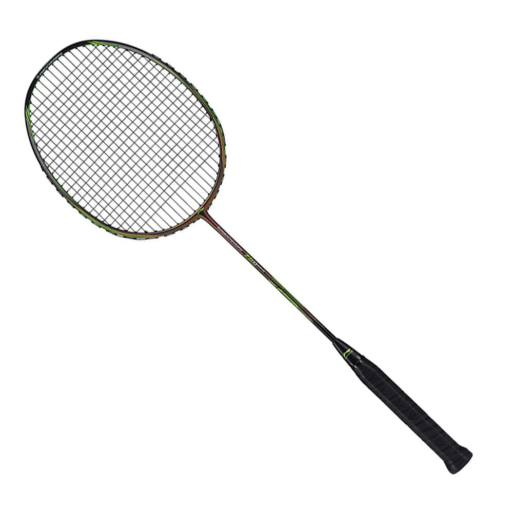 Li Ning Turbocharging 75D Elastic Head | Rapid Repulsion Power Doubles Badminton Racquet