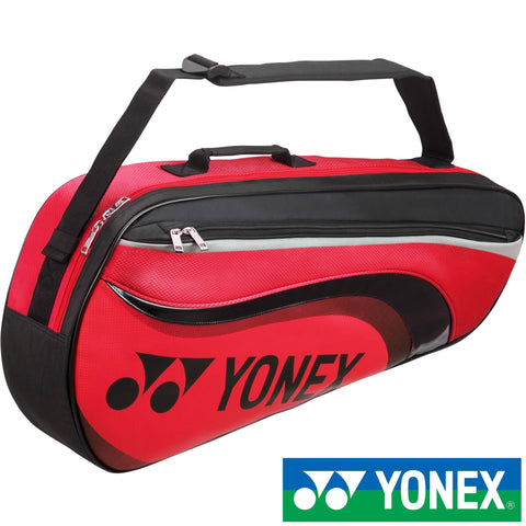 Yonex Active Series Badminton Bag Red (3pcs - Small)