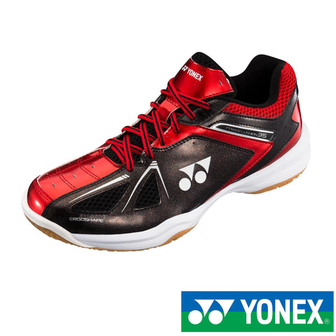 Yonex Power Cushion 35 (Black/Red) Badminton Shoes