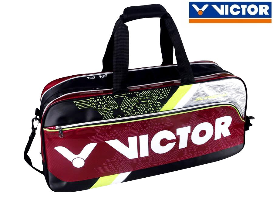 Victor Badminton Bag - Up to 9 Rackets (Team Malaysia Exclusive Color)