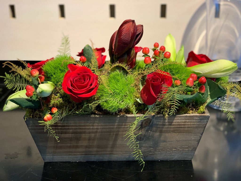 SPECIAL: Holiday Trough Arrangement ($50)