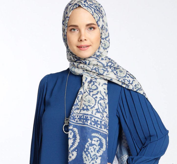 Multi - Printed - Shawl-531361