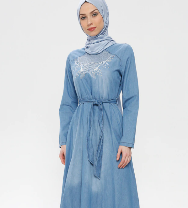 Denim-Dresses- code 795699