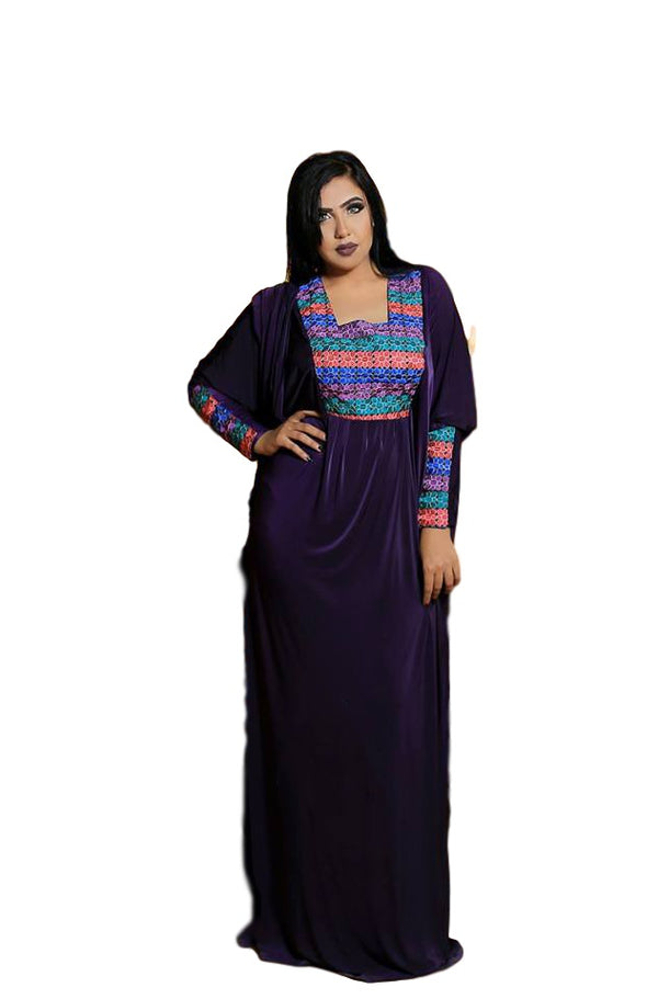 Code 152 Turkish Georgette  Abaya
