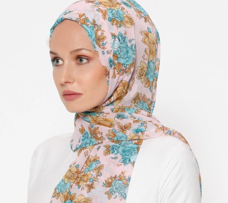 Multi - Printed - Shawl-422882