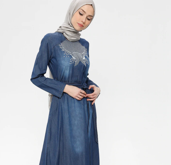 Denim-Dresses- code 795698