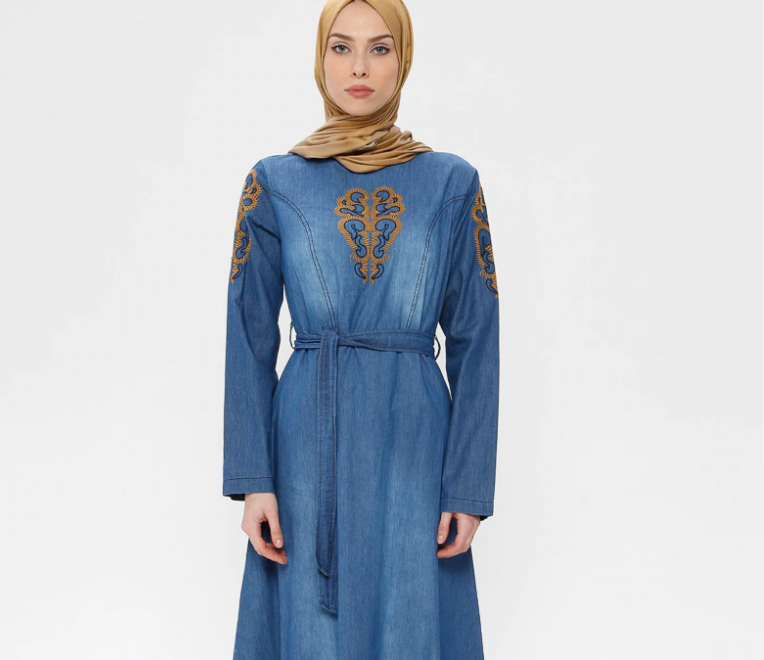 Denim-Dresses- code 794067