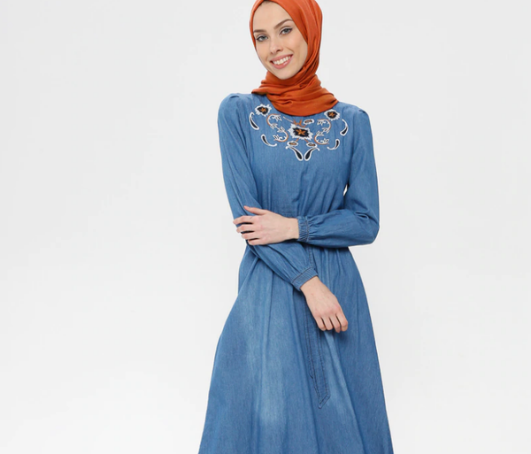 Denim-Dresses- code 795701