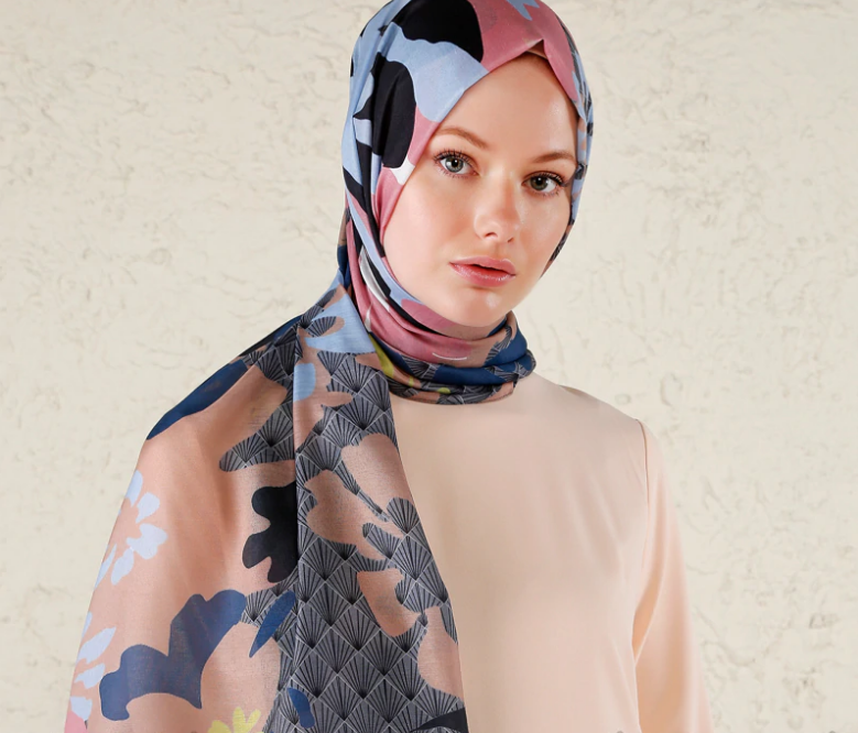 Multi - Printed - Shawl-1108470