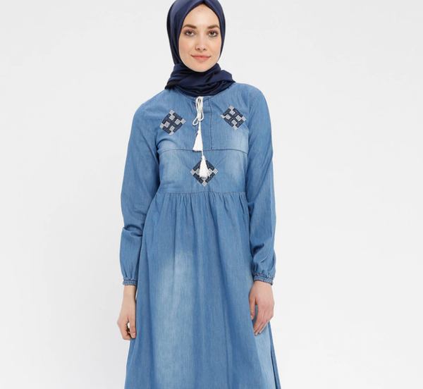 Denim-Dresses- code 802825