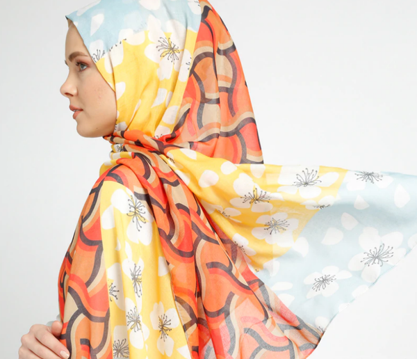 Multi - Printed - Shawl-441044