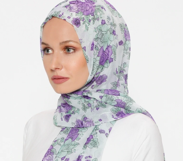 Multi - Printed - Shawl-422884