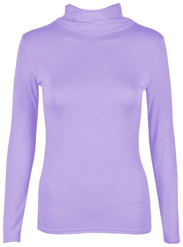 Basic-body-lavender t-Shirt For Women