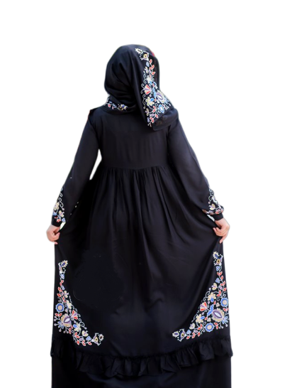 Dress-Anbar-Abaya with scarf