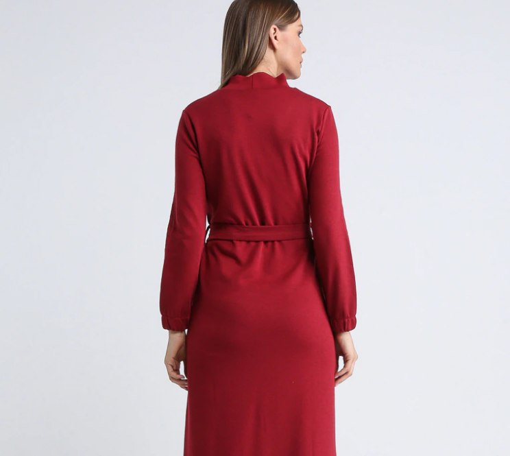 Polo neck - Unlined - Dresses - 783814