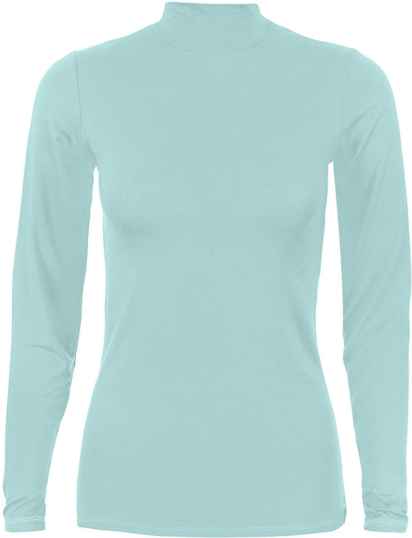 Basic-body-Aqua-Coffee t-Shirt For Women