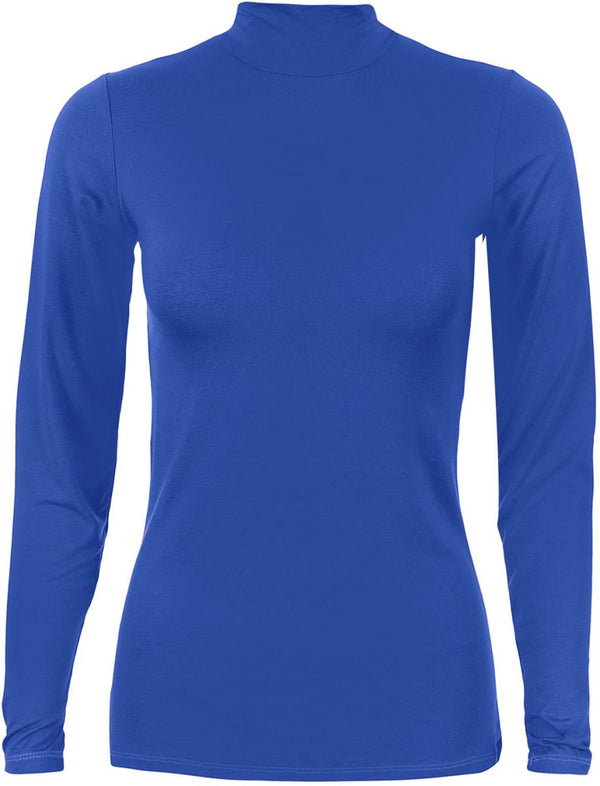 Basic-body-everyday-Blue t-Shirt For Women