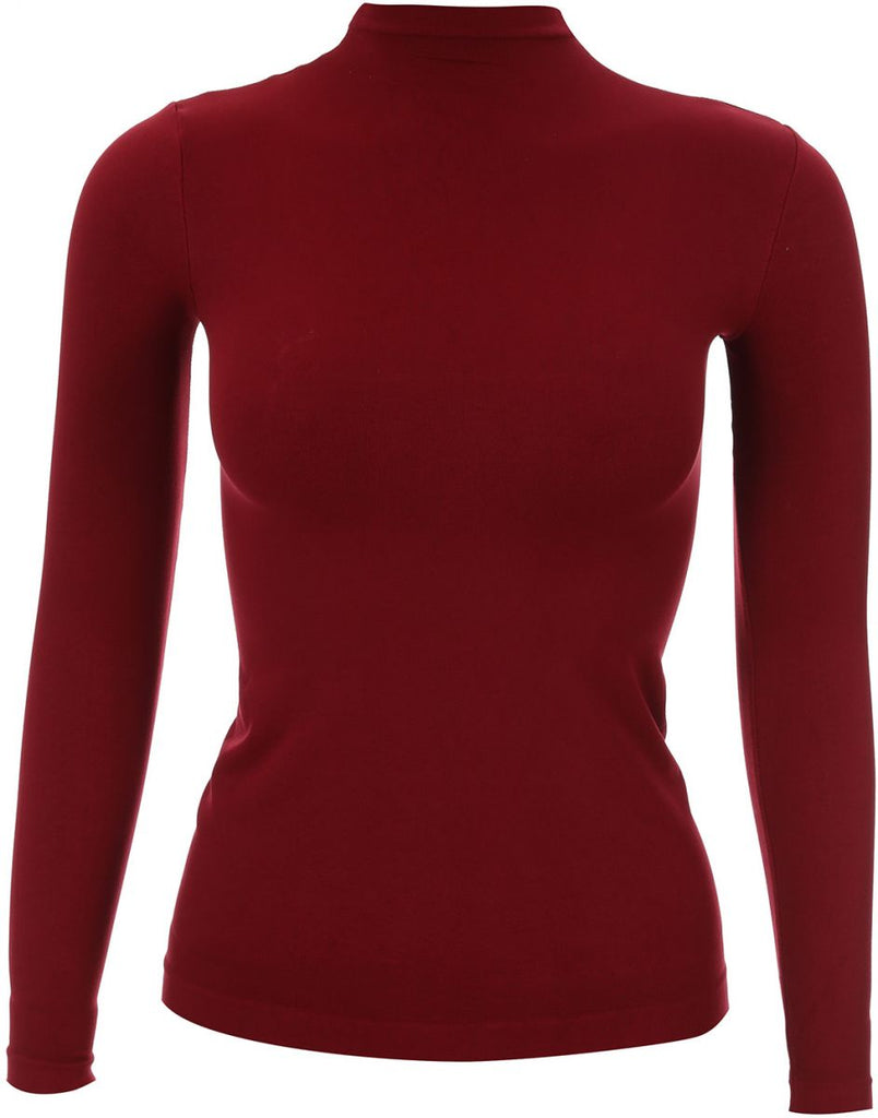 Basic-body-everyday-Redwine t-Shirt For Women