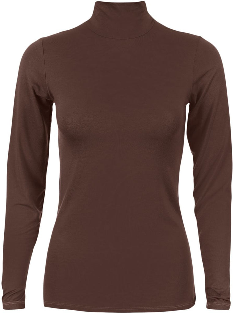 Basic-body-everyday-Brown t-Shirt For Women