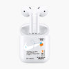 """85"" AirPods Case - Limited White Edition"