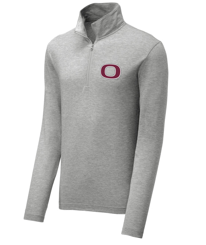 School Pride Mens 1/4 Zip Pullover