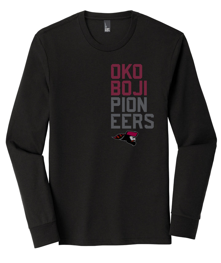 Okoboji Breakout Long Sleeve Triblend Tee