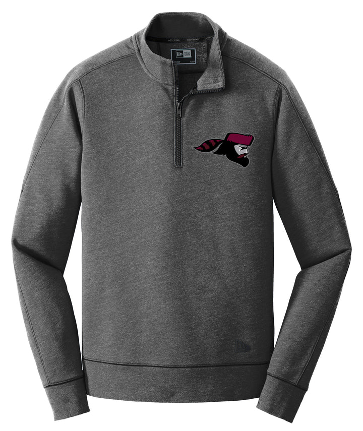 Pioneer Mascot New Era Fleece 1/4-Zip Pullover
