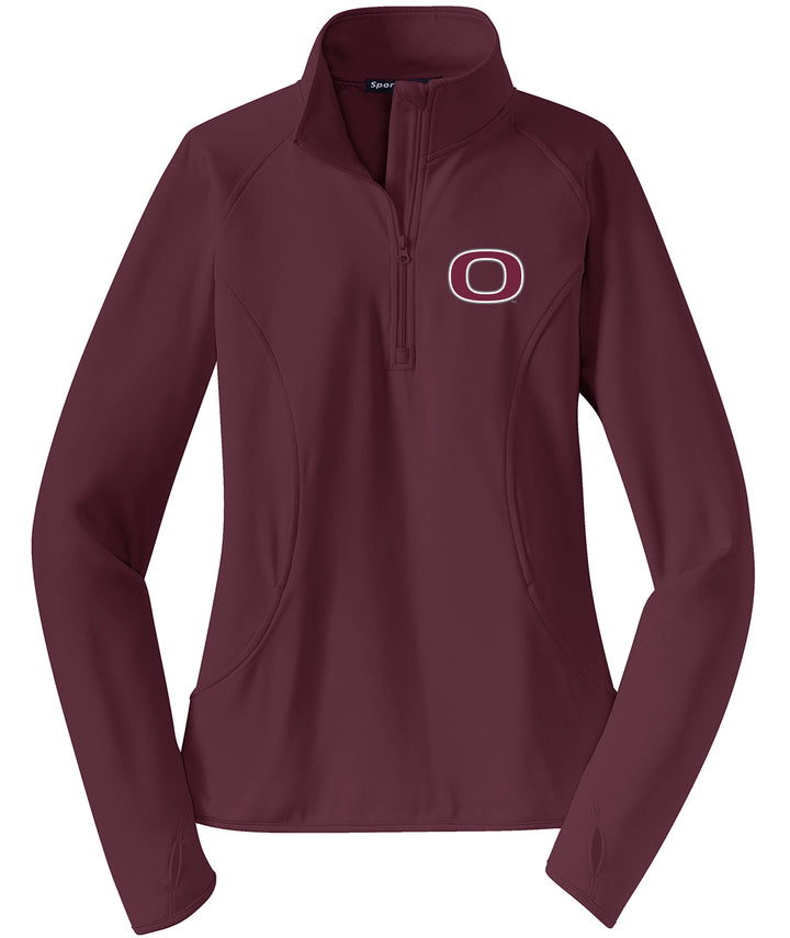 Okoboji O Womens Stretch Performance 1/2-Zip Pullover