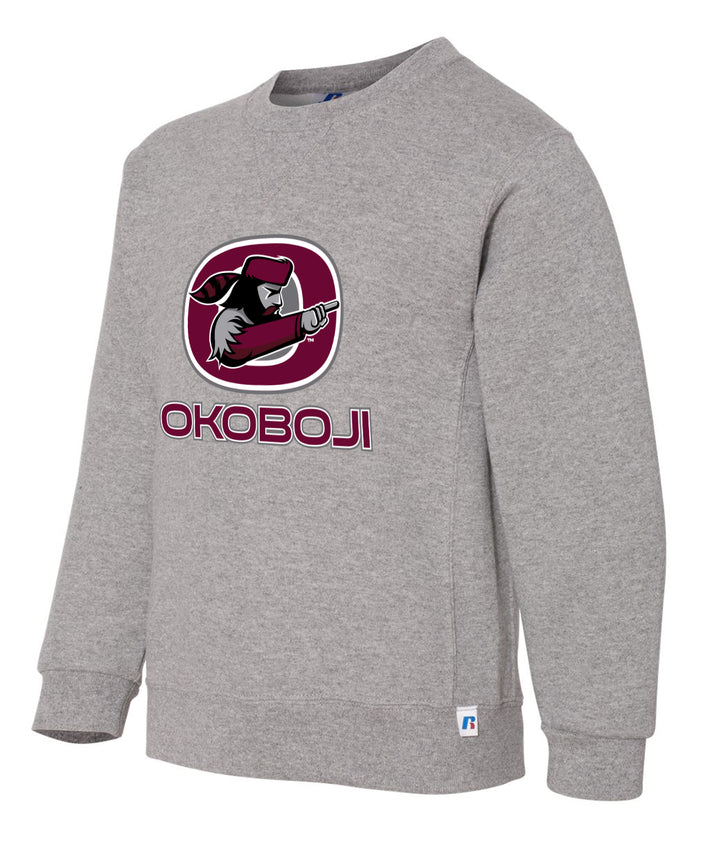 Okoboji Pioneers Youth Crewneck Sweatshirt