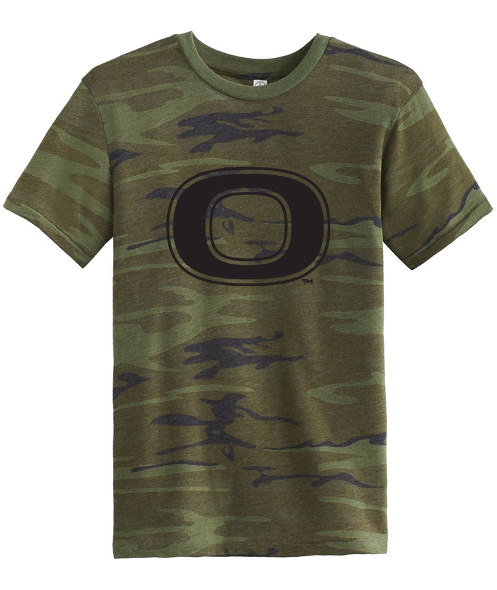 Okoboji Camo Mens Fitted Tee