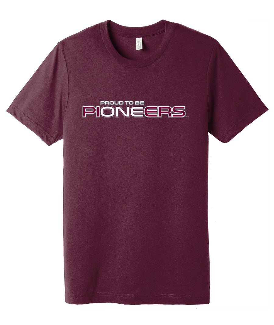 Proud To Be One Triblend Tee