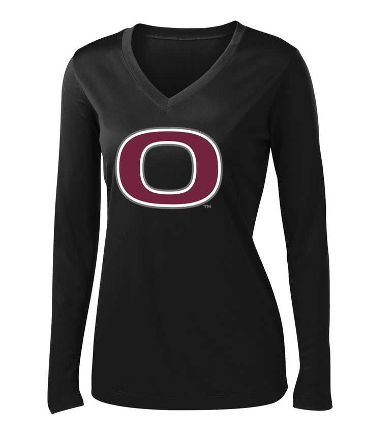 School Pride Womens Performance Long-Sleeve Tee