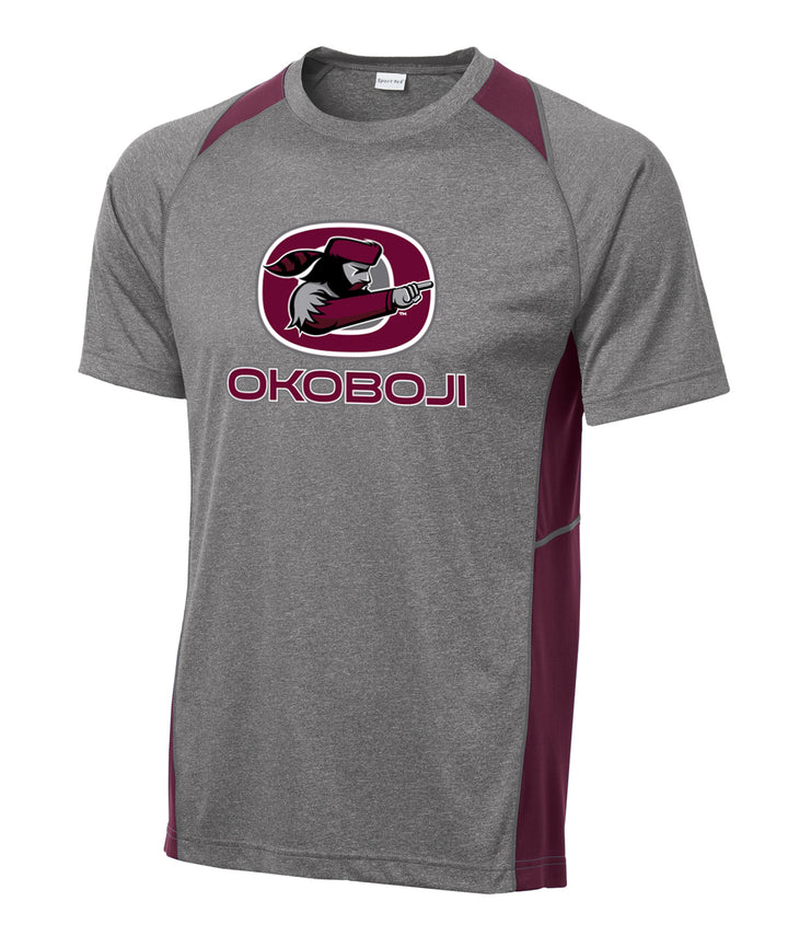 Okoboji Colorblock Performance Tee