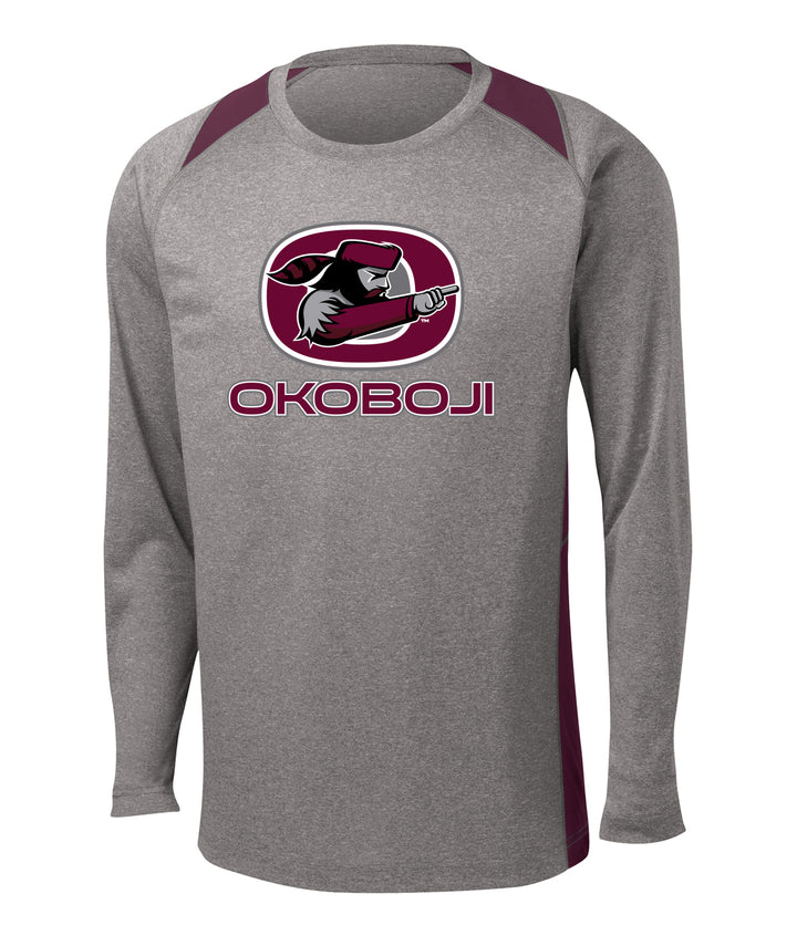 Okoboji Colorblock Long Sleeve Performance Tee