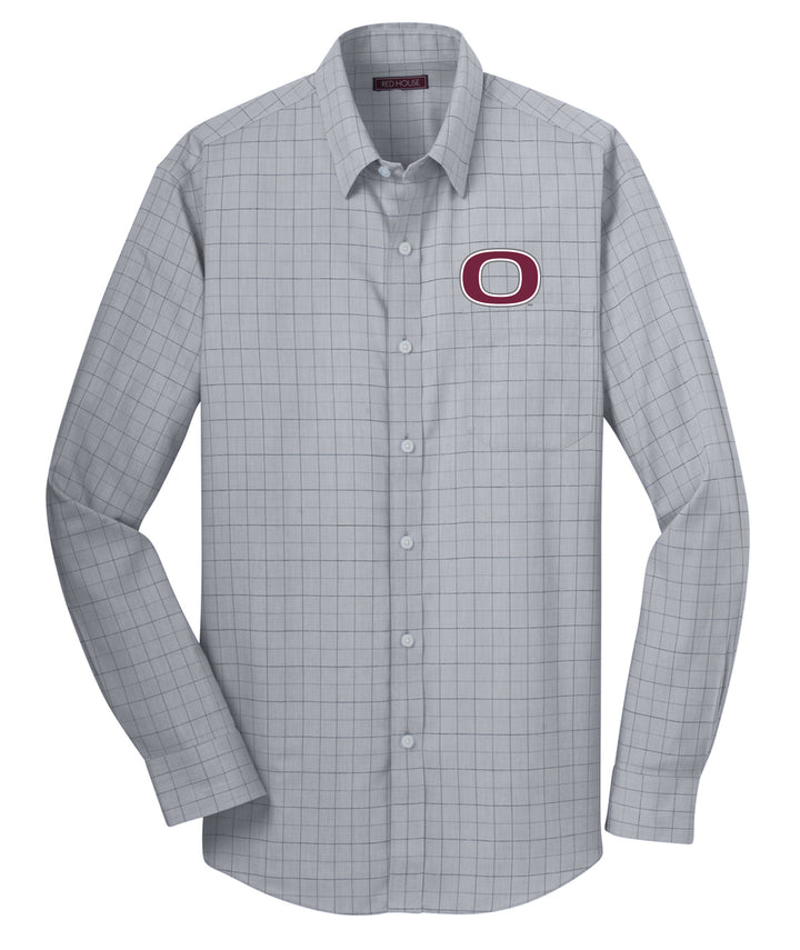 Okoboji Mens Plaid Dress Shirt