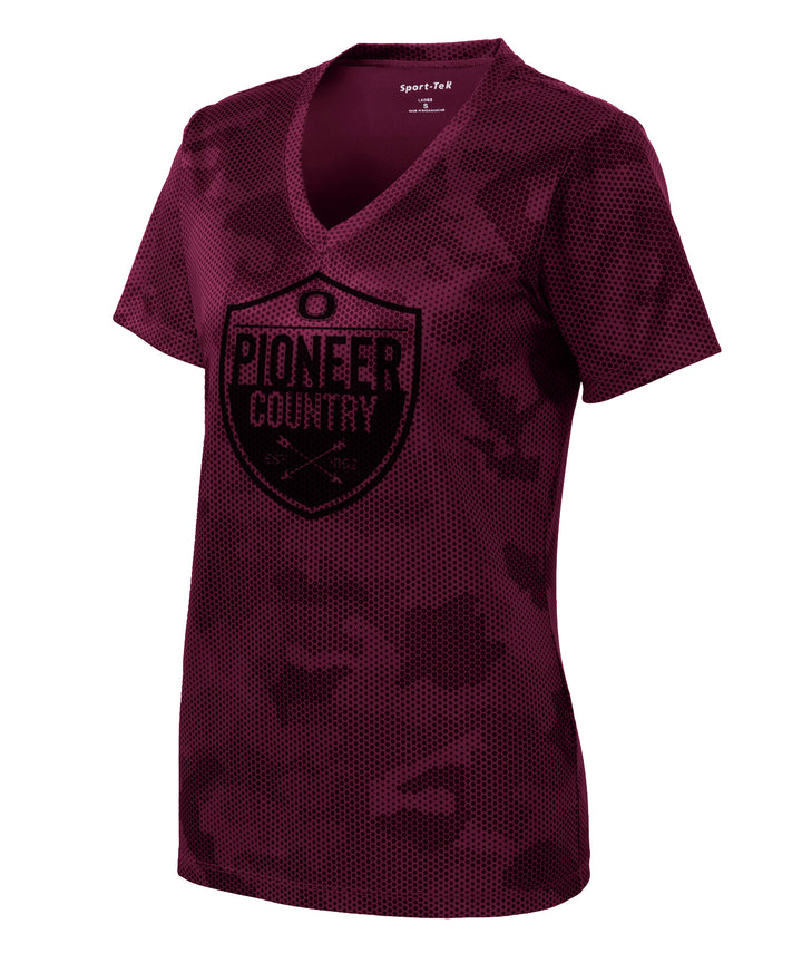 Pioneer Country Womens Camo Performance Tee