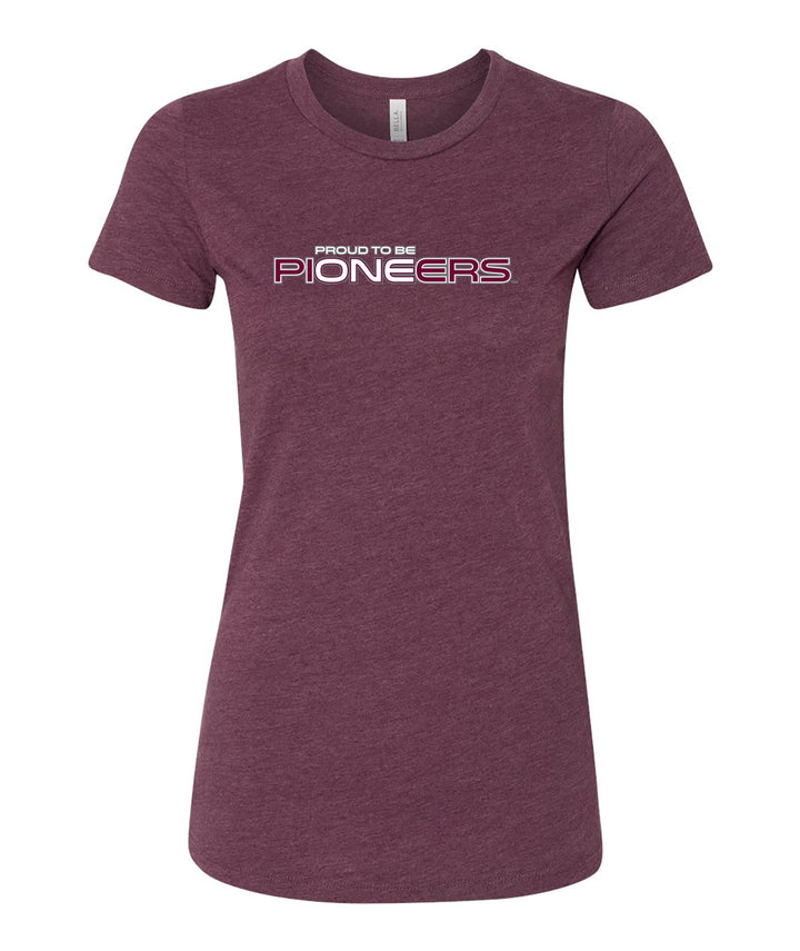 Proud To Be One Womens Fitted Tee