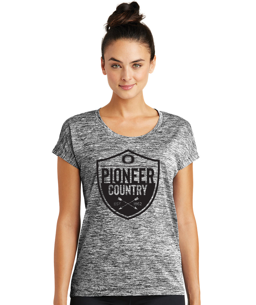 Pioneer Country Womens Charged Performance Tee