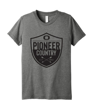 Pioneer Country Youth Triblend Tee
