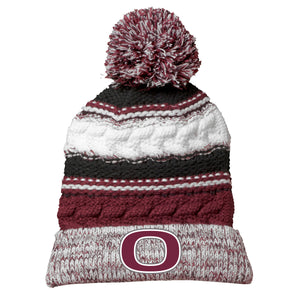 School Colors Pom Beanie