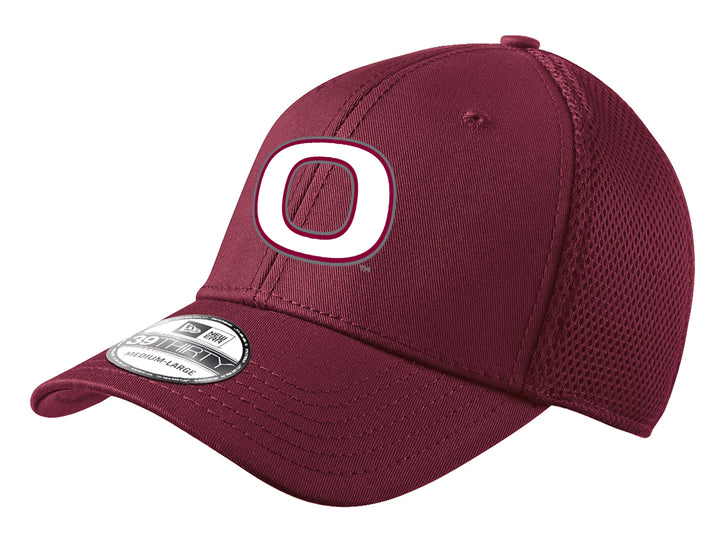 Okoboji New Era Maroon Stretch Hat
