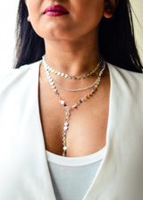 Silver Glam Necklace