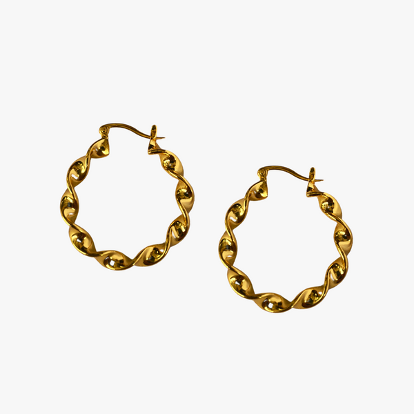 Emily - 18K Solid Yellow Gold