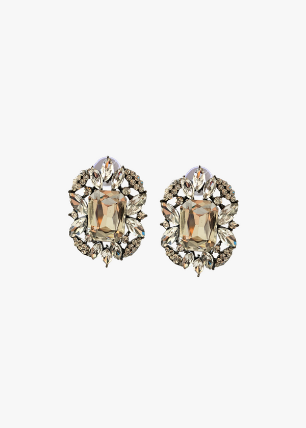 Clear Crystal Studs