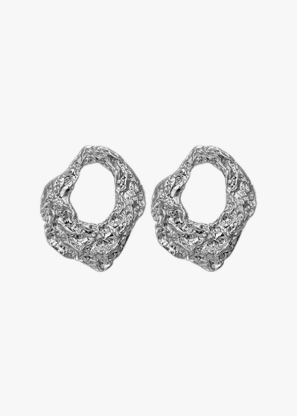 Crushed Foil Earrings