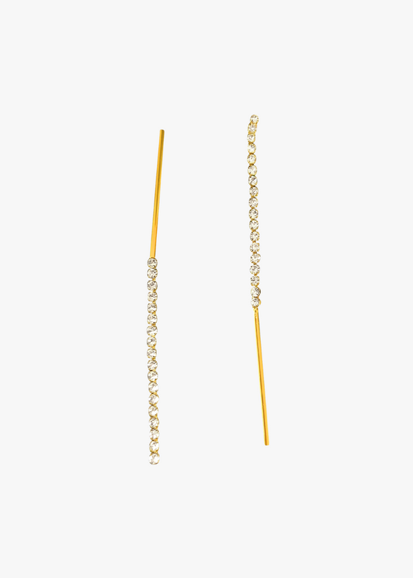 Elegant 1 Line Drop Earrings