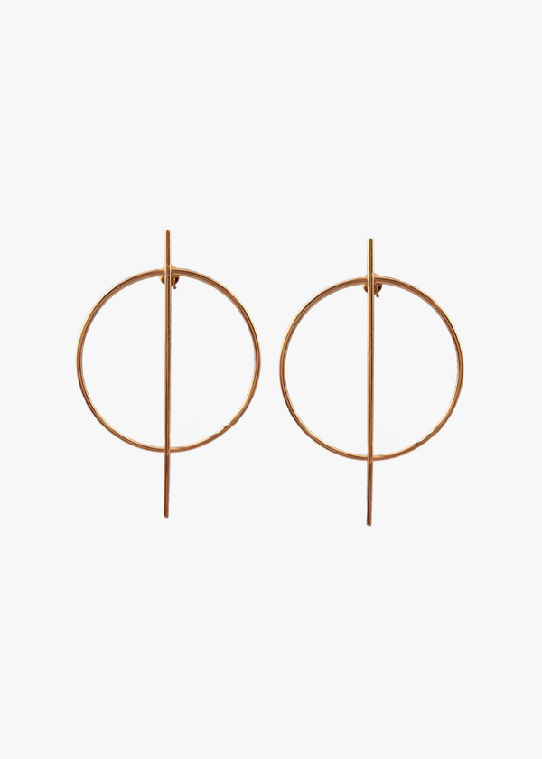 GOLD THETA Earrings