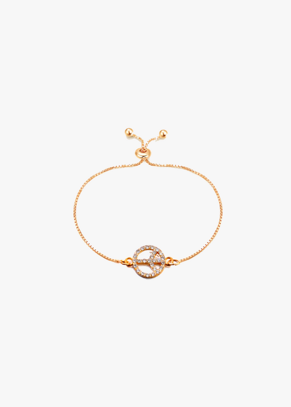 Peace Adjustable Bracelet