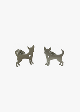 Silver Dog Studs