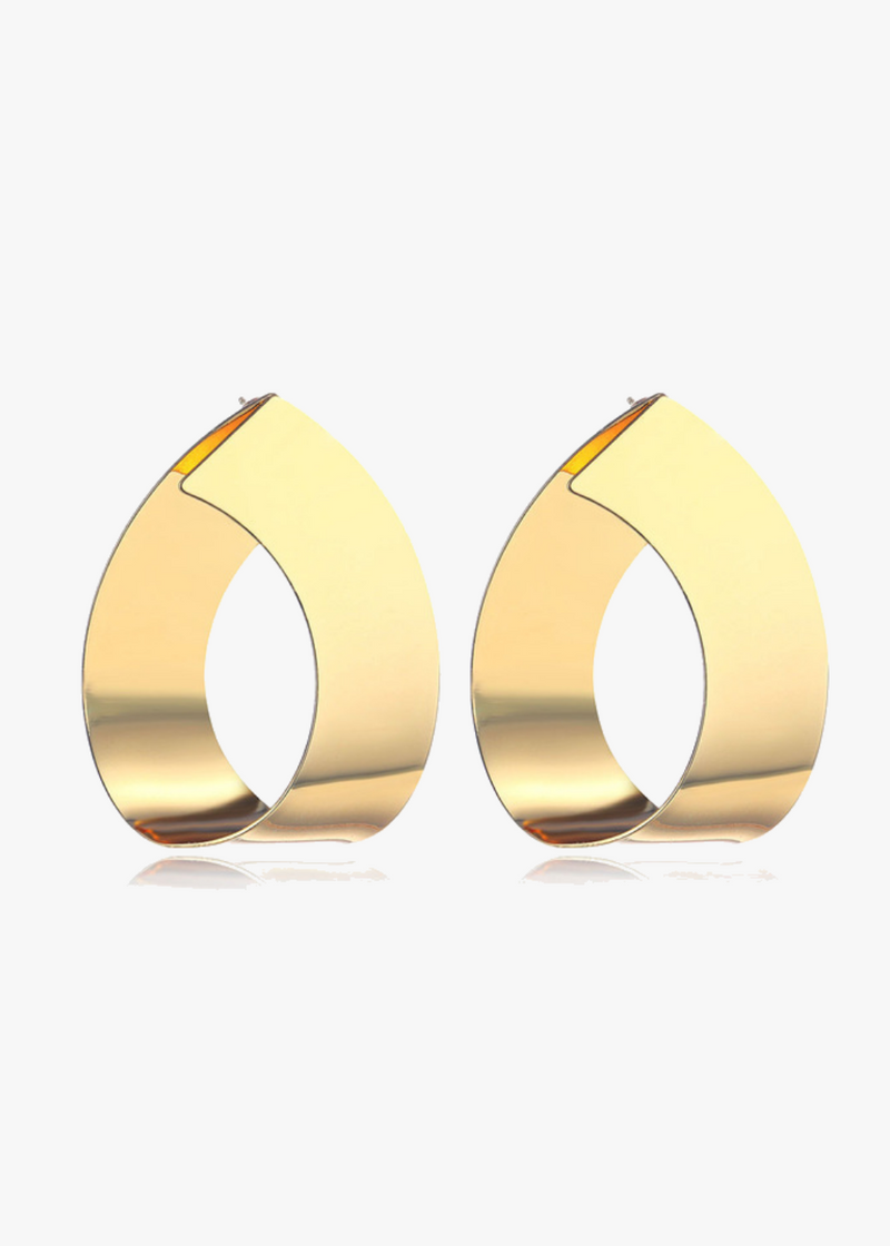 Modern Gold Loops